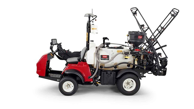 Toro Introduces Multi Pro 1750 with GeoLink