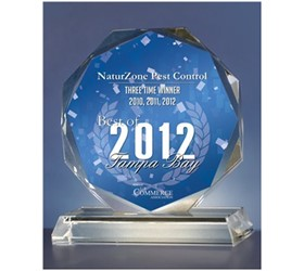 NaturZone Wins 2012 Best of Tampa Bay Award