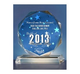 NaturZone Receives 2013 Best of Tampa Bay Award