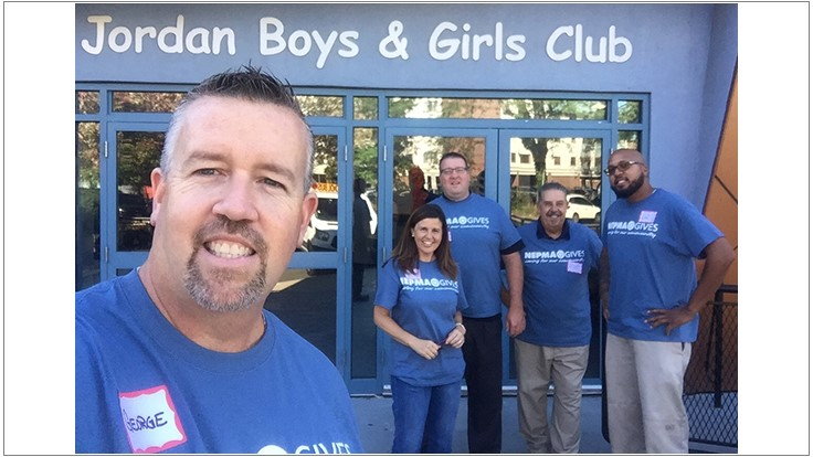 NEPMA Members Volunteer at Boys & Girls Club