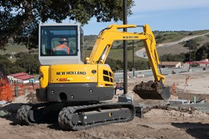 New Holland Construction Launches New Compact Excavator
