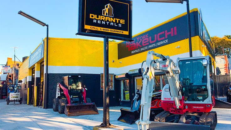 Durante Rentals opens Brooklyn location