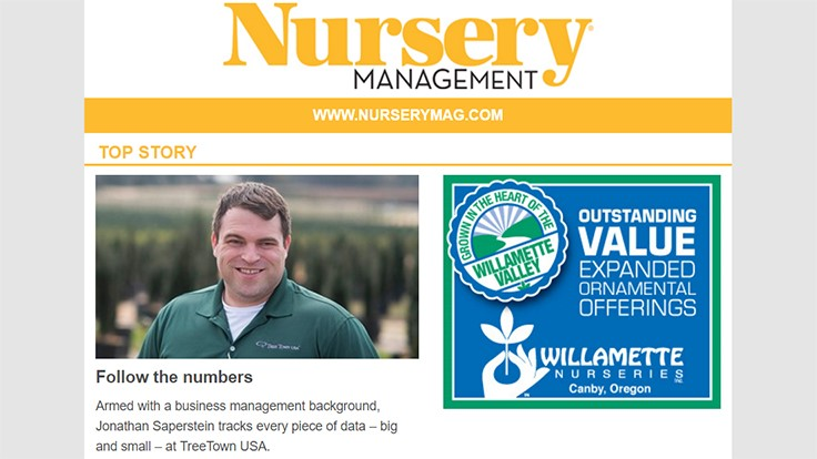 Introducing the new Nursery Management newsletter