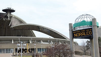 Demolition Work Nears Completion at Pittsburgh Civic Arena