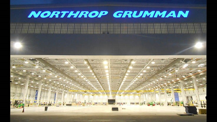 Northrop Grumman Manufacturing Center of Excellence is LEED Gold Certified