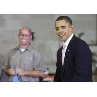 Obama Visits Eastern Land Management in Connecticut