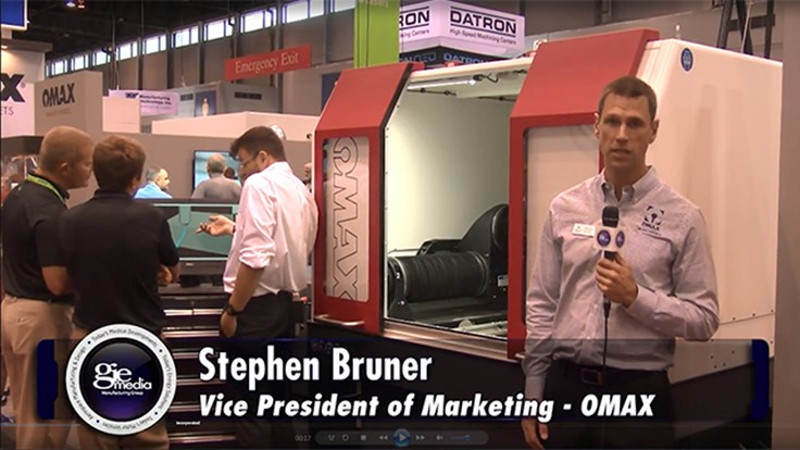 IMTS 2016 Booth Tour: OMAX Corp. [VIDEO]