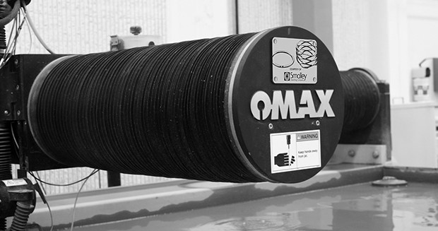 Smalley Steel Ring donates OMAX waterjet - Today's Medical