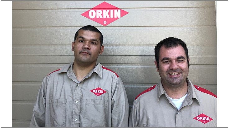 Orkin Technicians Think Fast to Extinguish Car Fire
