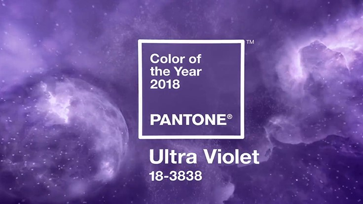 Ultra Violet named 2018 Pantone Color of the Year