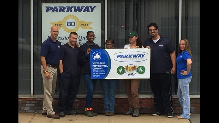 Parkway Pest Voted Best Pest Service of the North Shore 2015