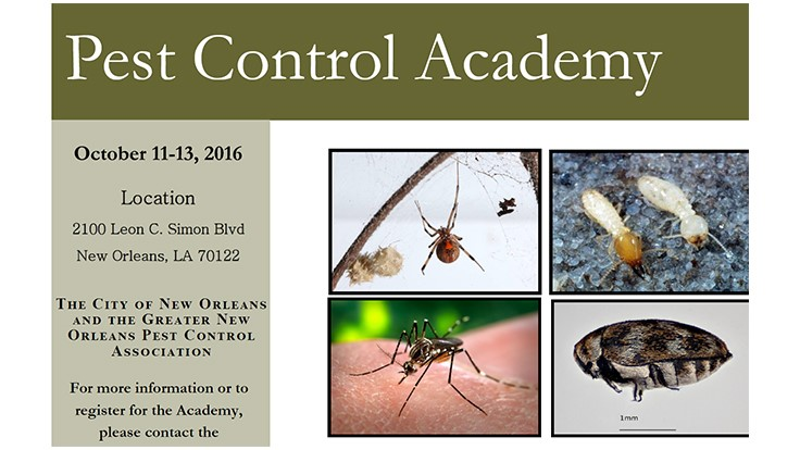 Pest Control Academy to Be Held in New Orleans