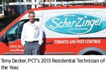 Scherzinger's Tony Decker Profiled in Cincinnati Enquirer