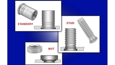 PennEngineering self-clinching nuts, studs, standoffs