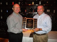"Central Life Sciences Awards Lockhart 2010 ""Outstanding Sales Achievement Award"""