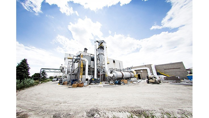 New fluidized bed combustion system offsets tipping fees at Toronto-area paper mill