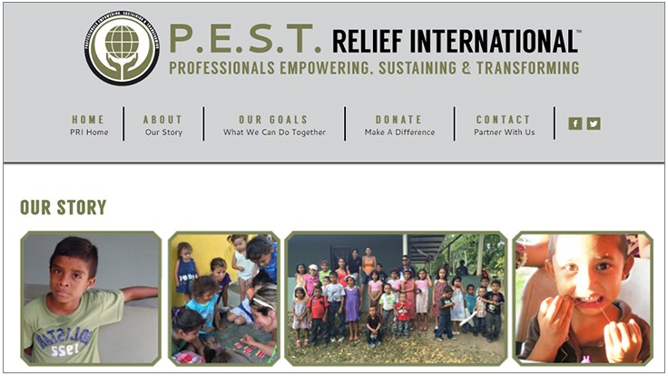 P.E.S.T. Relief International Gives the Gift of REST