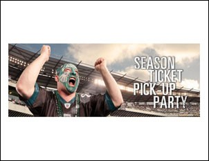 Phil Cooper Becomes the Face of the Philadelphia Eagles for the 2010-2011 Season