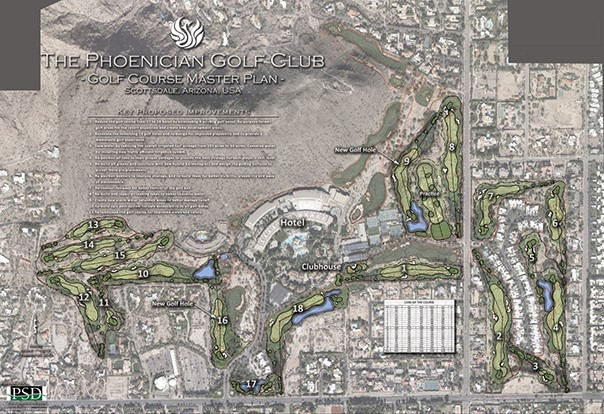 Major renovation planned for Arizona course