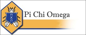 Scholarships Available from Pi Chi Omega
