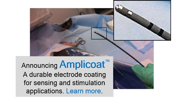 Conductive coating for medical devices