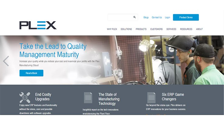 Plex Systems' analytic applications for manufacturers