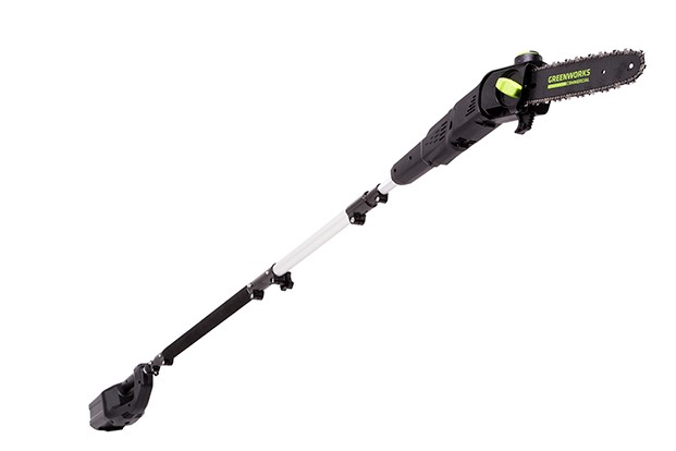 Greenworks Commercial unveils 82-volt Brushless Pole Saw