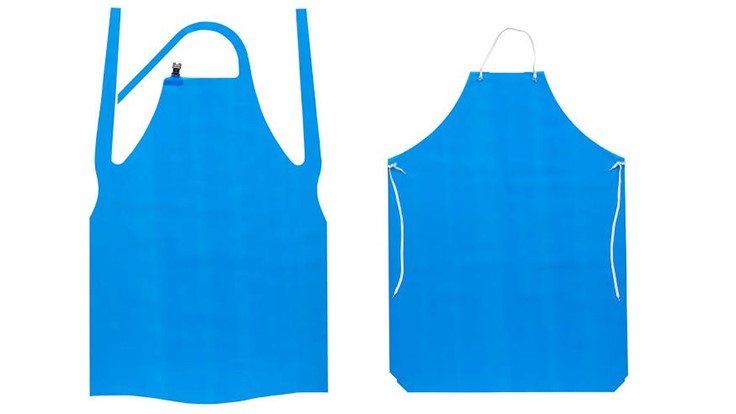 PolyConversions Introduces Two VR Heavy Duty 12-mil Strapped and Grommet Aprons