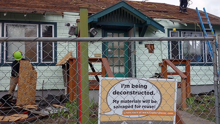 New Portland, Oregon, ordinance requires deconstruction