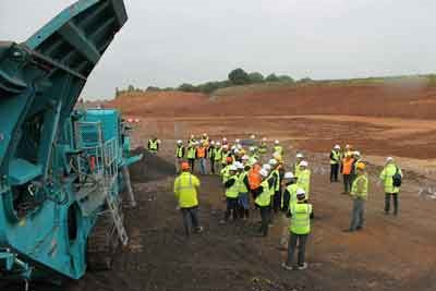 New Crushing and Screening Equipment Showcased at Powerscreen Open Day