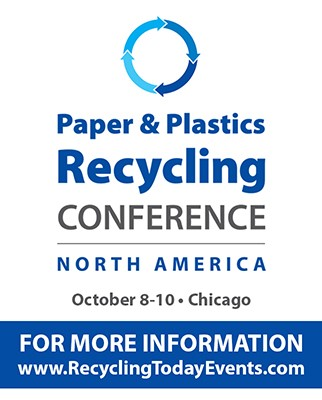 Paper & Plastics Recycling Conference releases schedule