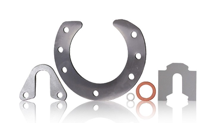 The advantage of using edge bonded shims