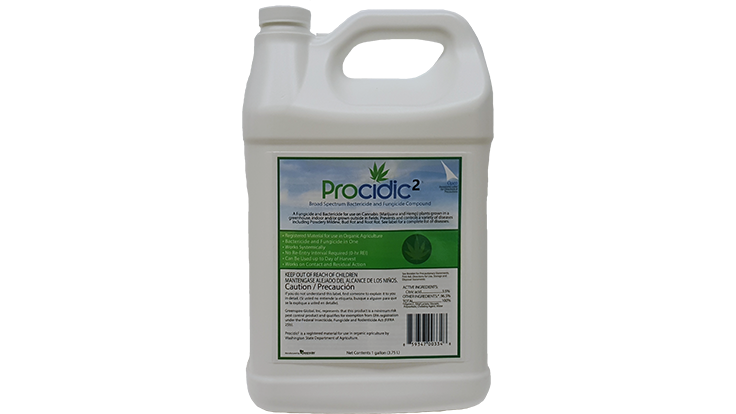 Greenspire Global Introduces Procidic2 Natural Bactericide & Fungicide for Cannabis & Hemp