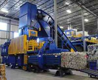 High Capacity Single-Ram Extrusion Balers