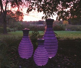 Atlantic Water Gardens Color Changing Vases