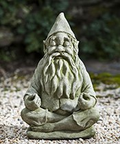 Big Fred Totally Zen Garden Gnome