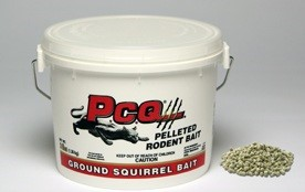 P.C.Q. - Pelleted Rodent Bait (CA only)