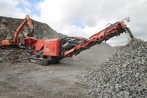 J-1170 Primary Mobile Jaw Crusher
