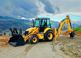 C Series Loader Backhoes