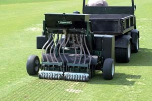 Triwave 40 Tow Behind Overseeder Lawn Amp Landscape