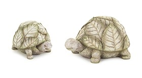 Turtle with Leafy Shell