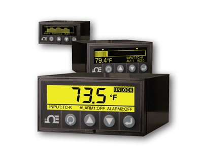 1/8 DIN Graphic Display Panel Meter and Logger Dpi1701
