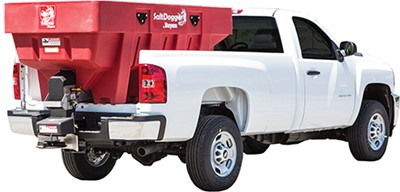 SaltDogg SHPE series salt spreaders