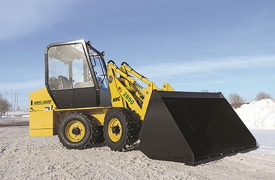 NMC 2850 articulated compact loader
