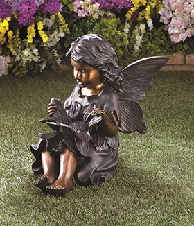 Enchanting Fairy Garden Statue