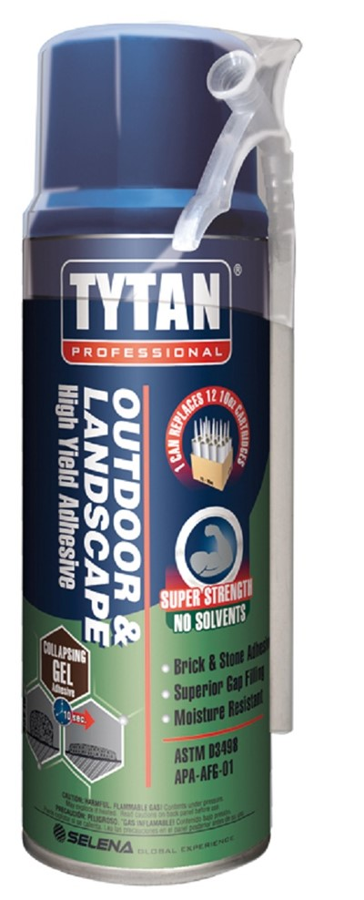 Landscaping Block Glue : Tytan outdoor landscape high yield adhesive lawn