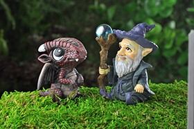 Mini Wizard and Dragons