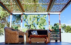Laser Cut Steel Screens Pergolas Garden Center Magazine
