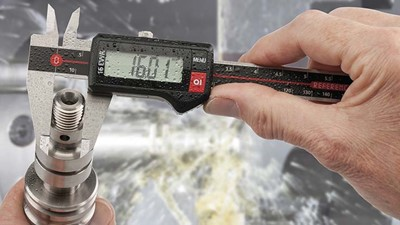Waterproof digital calipers