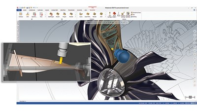 CNC Software's Mastercam 2017